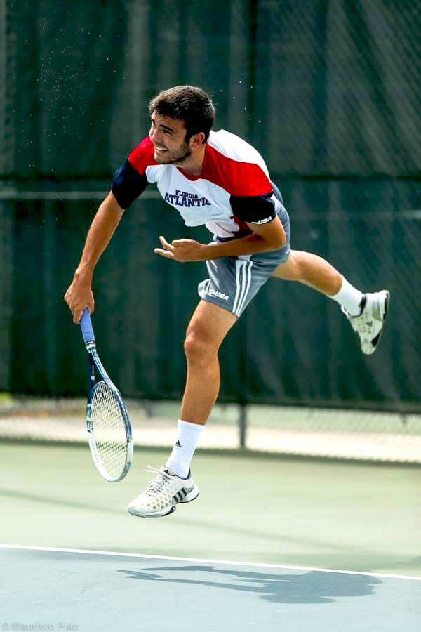 Becas de tenis en Estados Unidos